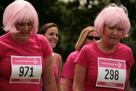 Race for Life at Lydiard Park - 15/06/08